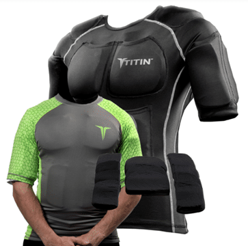 Titin Force Weighted Compression Clothes